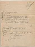 Letter  McGraw, John 9 JSA LOA