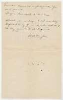 Letter  Cuyler, Kiki 9.5