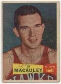 1957 Topps 27 Ed MacCauley 9 JSA LOA (FULL)