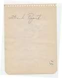 Album Page  Papish, Frank 9.5 JSA LOA