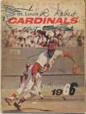 Program  1965 Cardinals Vintage Signed Yearbook (27 sigs) 9 JSA LOA