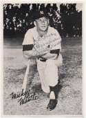Photo  Mantle, Mickey (vintage 1950s) 9.5