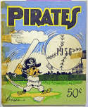 Program  1956 Pirates Vintage Signed Yearbook w/superb Clemente 9