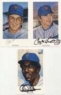 Postcard  1969 Mets Set w/Seaver (23 sigs) 9.5
