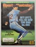 Program  Carlton, Steve Signed 1980 S.I. 9.5