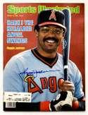 Program  Jackson, Reggie Signed 1982 S.I. 9.5