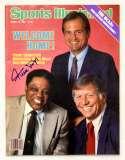 Program  Mays, Willie Signed 1985 S.I. 9.5