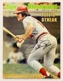Program  Rose, Pete Signed 1978 S.I. - No Label 9.5