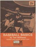 Program  Williams, Ted Signed 1971 Baseball Basics 9.5 JSA LOA