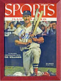 Program  Williams, Ted Signed 1955 Sports Illustrated Cover 9.5