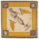 1914 B18 Blanket 36.2 Miller Huggins (yellow pennants) Ex-Mt
