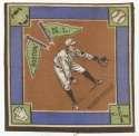 1914 B18 Blanket 48.2 Rabbit Maranville(brown infield) Ex-Mt+