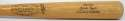 DiMaggio, Joe 1972 Game Bat x