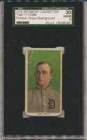 1909 T206 94 Cobb (portrait, green bckgrnd) SGC 2
