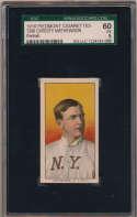 1909 T206 299 Mathewson (portrait) SGC 5