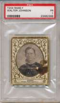 1909 T204 Ramly 60 Walter Johnson PSA 1