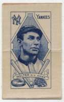 1911 S74 Silk with Paper Backing  Wolter VG-Ex/Ex