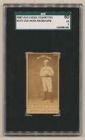 1887 N172 Old Judge  Radbourn, Old Hoss (portrait) SGC 5