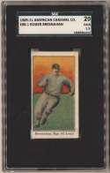 1909 E90-1 American Caramel 13 Roger Bresnahan SGC 1.5