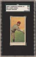 1909 E90-1 American Caramel 52 Harry Howell (follow thru) SGC 1.5
