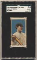 1909 E92 Dockman  Doyle With Bat SGC 2.5