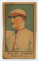 1921 W551 5 Walter Johnson VG-Ex/Ex