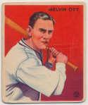 1933 Goudey 207 Ott Good