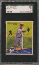 1934 Goudey 6 Dean SGC 5
