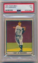 1941 Play Ball 71 Joe DiMaggio PSA 3