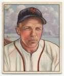 1950 Bowman 29 Eddie Stanky VG-Ex/Ex