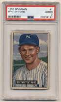 1951 Bowman 1 Ford RC PSA 2 (ctd)