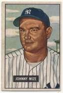 1951 Bowman 50 Mize Ex+