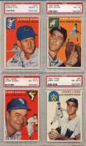 1954 Topps  Collection of 71 Different PSA 7 - PSA 8 Commons