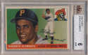 1955 Topps 164 Clemente RC BVG 6