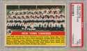 1956 Topps 251 Yankees TC PSA 7