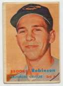 1957 Topps 328 B Robby RC Good
