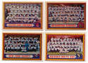 1957 Topps  79 different semi-high numbers VG-Ex/Ex
