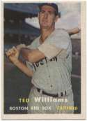 1957 Topps 1 Williams Ex