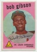 1959 Topps 514 Bob Gibson RC Ex++
