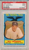 1959 Topps 554 Skowron AS PSA 9 (pop 1/4)