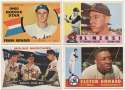 1960 Topps  256 commons/minors, mostly different NM w/many nicer