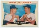 1960 Topps 160 Mantle/Boyer VG