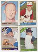 1966 Topps  25 different high #s w/10 SPs Ex-Mt