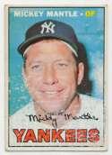 1967 Topps 150 Mantle   Fair