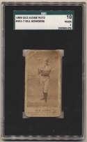 1887 N172 Old Judge  Sowders, Little Bill (Boston) SGC 1