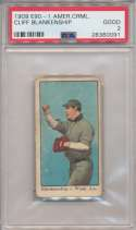 1909 E90-1 American Caramel 8 Cliff Blankenship PSA 2