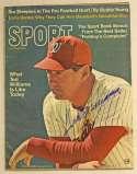 Program  Williams, Ted Signed 1969 Sport Magazine 9.5