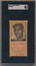 1954 NY Journal American 41 Yogi Berra SGC 6