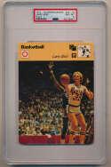 1977 Sportscaster 7418 Larry Bird RC PSA 8