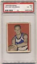 1948 Bowman 32 Holzman PSA 4